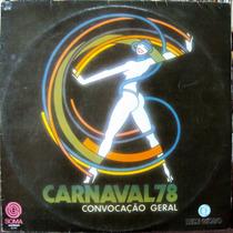Lp Vinil - Carnaval 78 - Convocação Geral - 1977