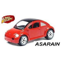 Jl - Vw - New Beetle Vermelho 1 Of 5000 1/64