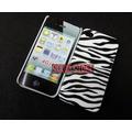 Capa Para Iphone 4 4s Vaca Zebra Leopardo Tigre + Película.