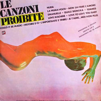 Le Canzoni Proibite Lp Vários Artistas Italianos 1977
