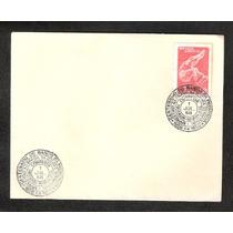 Banco Da Provincia,centenario-envelope C/ Carimbo