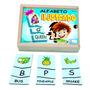 Brinquedo Educativo Alfabeto Ilustrado Inglês Pili Pili