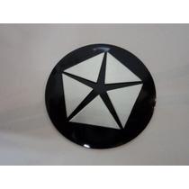 Emblema Crysler Para Rodas Esportivas 55mm