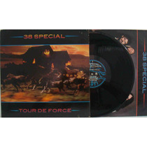 38 Special Lp Import Usado Tour De Force 1983 Encarte
