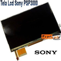 Tela Display Lcd Sony Psp Serie 3000 + Chave Gratis