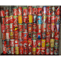 Latas Latinhas Comemorativas Coca Cola Coke - Promoção