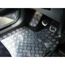 Tapete Alumínio Carro 6 Peça 100% Chapa - Tuning Acessório