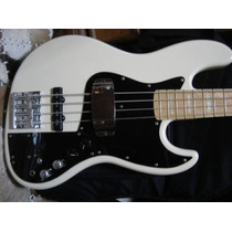 Baixo Fender Marcus Miller Signature Jazz Bass Olympic White