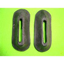 Fusca 1200 1300 Antigo Par Antiruído Borracha Parachoques