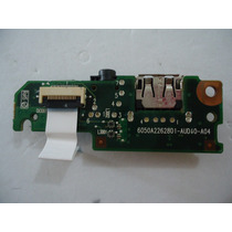 Placa Usb / Audio Para Notebook Hp Mini 110 -1020br