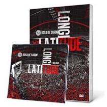 Kit Rosa De Saron - Cd + Dvd Latitute Longitude - Lançamento