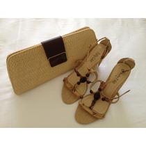 Bolsa Tipo Carteira & Sandalia