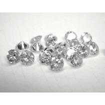 100 Diamantes De 1 Ponto. Cada.lap. Brilhante.vs...r$ 950.00