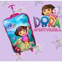 Dora Aventureira Mochila Infantil Com Rodinhas E Lancheira