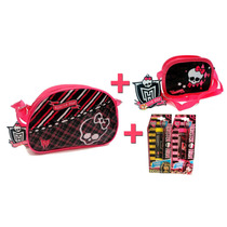Monster High Duas Bolsas Crossbody + 2 Lip Balm Monster High
