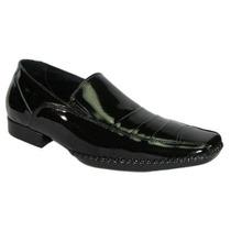 Sapato Envernizado Preto Social Mafisa Calçados Ref. 3060
