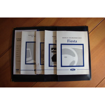 Manual Proprietario Ford Fiesta 98 Completo , Original