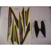 Adesivo Xr 250 Tornado 08 Amarela, Envio Grátis, Quali 3m