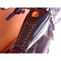 Capa Couro Harley Davidson 883,(made U.s.a Semi Nova)