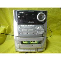 Micro-system Cce - Md-2.200 - C/ Defeito - Mineirinho - Cps.