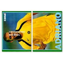 Pôster 2006 - Jogador Adriano Imperador - Rev. Canal Extra