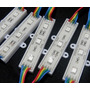 Kit Com 10 Módulos Led String Rgb Com 3 Leds Smd5050