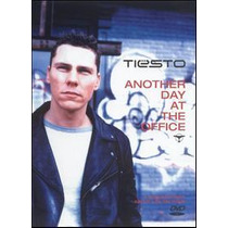 Dj Tiesto: Another Day At The Office Dvd Novo Importado