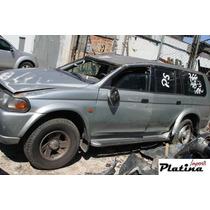 Sucata Mitsubishi Pajero Sport 00 Peças Motor Câmbio Tração