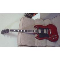 Guitarra Stagg Modelo Sg G300 Lh Para Canhoto - Troco