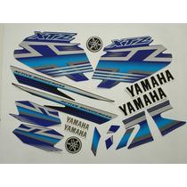 Adesivo Xtz125 2009 Azul, Faixa Original Completa