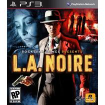 L.a. Noire Ps3 Game Original Lacrado Frete Grátis!!!