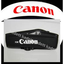 Alça De Pescoço Canon Neck Strap - Neoprene 600d T4i T2i T1i