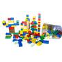 Brinquedo Monte Fácil - Blocos Estilo Lego - 170 Peças.