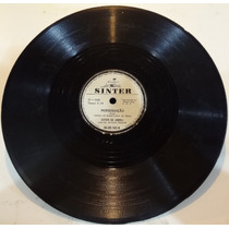 Disco 78 Rpm - Sinter 00-00.165 - Ester Abreu