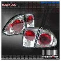 Lanterna Altezza Honda Civic 01/06 Cromo -
