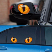 Adesivo Olho Gato Para Carro Moto Outros. Frete Gratis