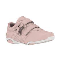 Tenis Infantil Feminino Ortopedico Rosa Bibi 890081 Velcro
