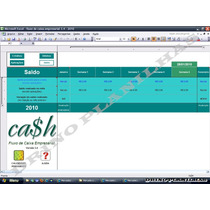 Empresarial- Fluxo De Caixa Planilha Planejamento Financeiro