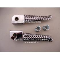 Par Pedaleira Fazer Dianteira Em Aluminio Modelo R1