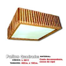 Plafon, Rustico Artesanal - L3011