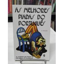 Livro - As Melhores Piadas Do Português - Roberto Goldkorn