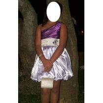 Vestido De Festa Curto Balonê- Tamanho 14 / 16 Ou P
