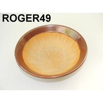 Cuia Bowl Em Porcelana Vitrificada Interior Em Relevo