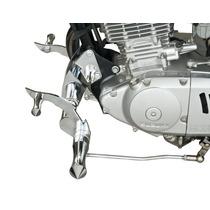 Comando Avançado Intruder 250, Chrome Fire Motos Custom
