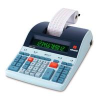 Calculadora Olivetti Logos 802b Profissional C/ Bobina 12dig