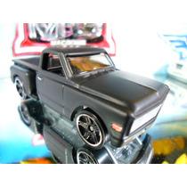 Hot Wheels Custom 69 Chevy Preto Fosco (envelopado) Macdonis