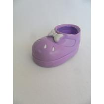 Sapato Sapatinho Para Bonecas Moranguinho Apenas 1 Pé