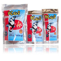 Koi Grow Red E Mix - Carpas E Kinguios - 450g - Maramar