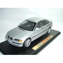 Bmw 328 I 1998 1/18 Welly Promoção Miniatura Linda E Rara