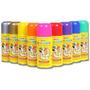 Tinta Spray P/ Os Cabelos(sai Fácil Na Água)caixa C/24 Spray